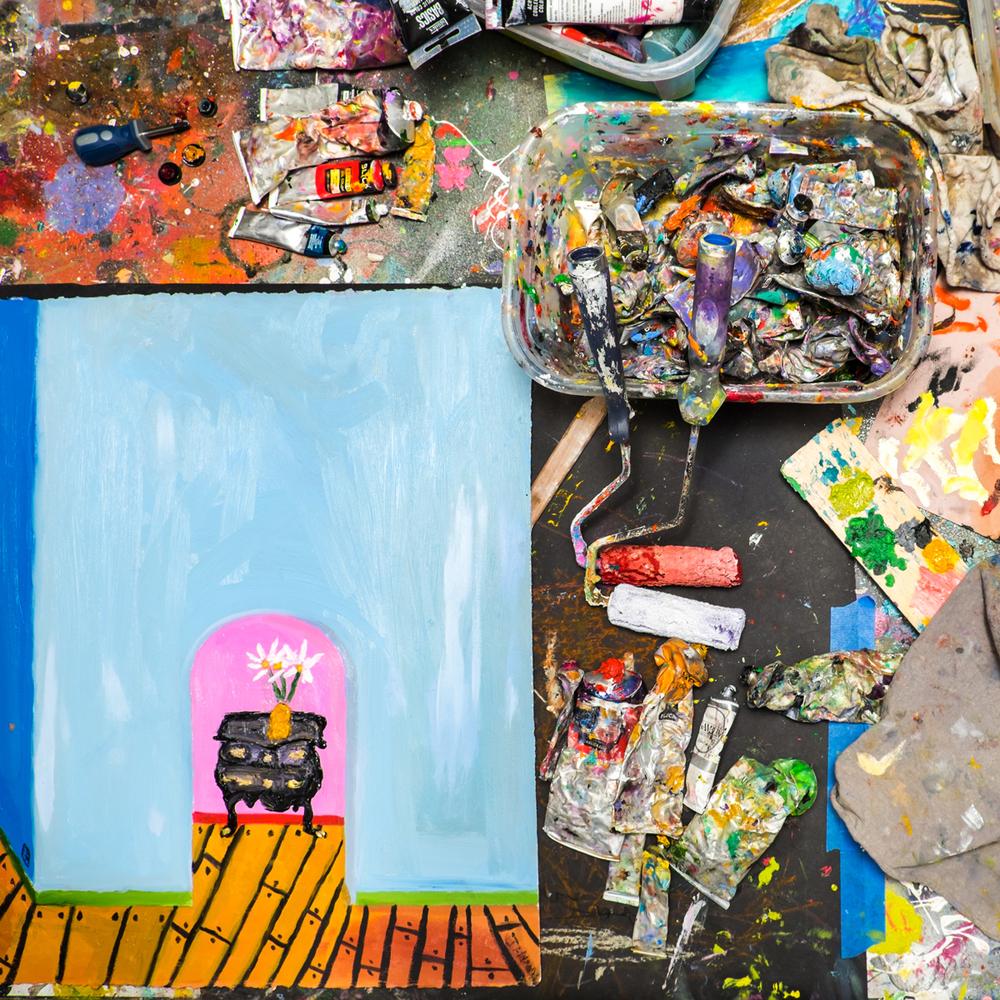 Studio shot, Marcus Jahmal