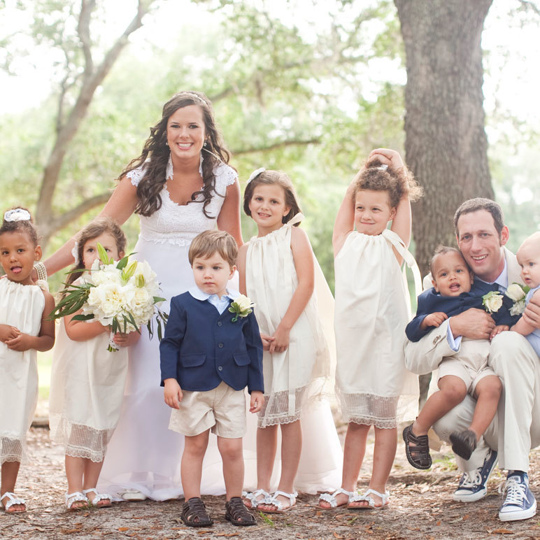 Coastal Southern Vintage Wedding