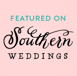 Featured in Southern Weddings Magazine