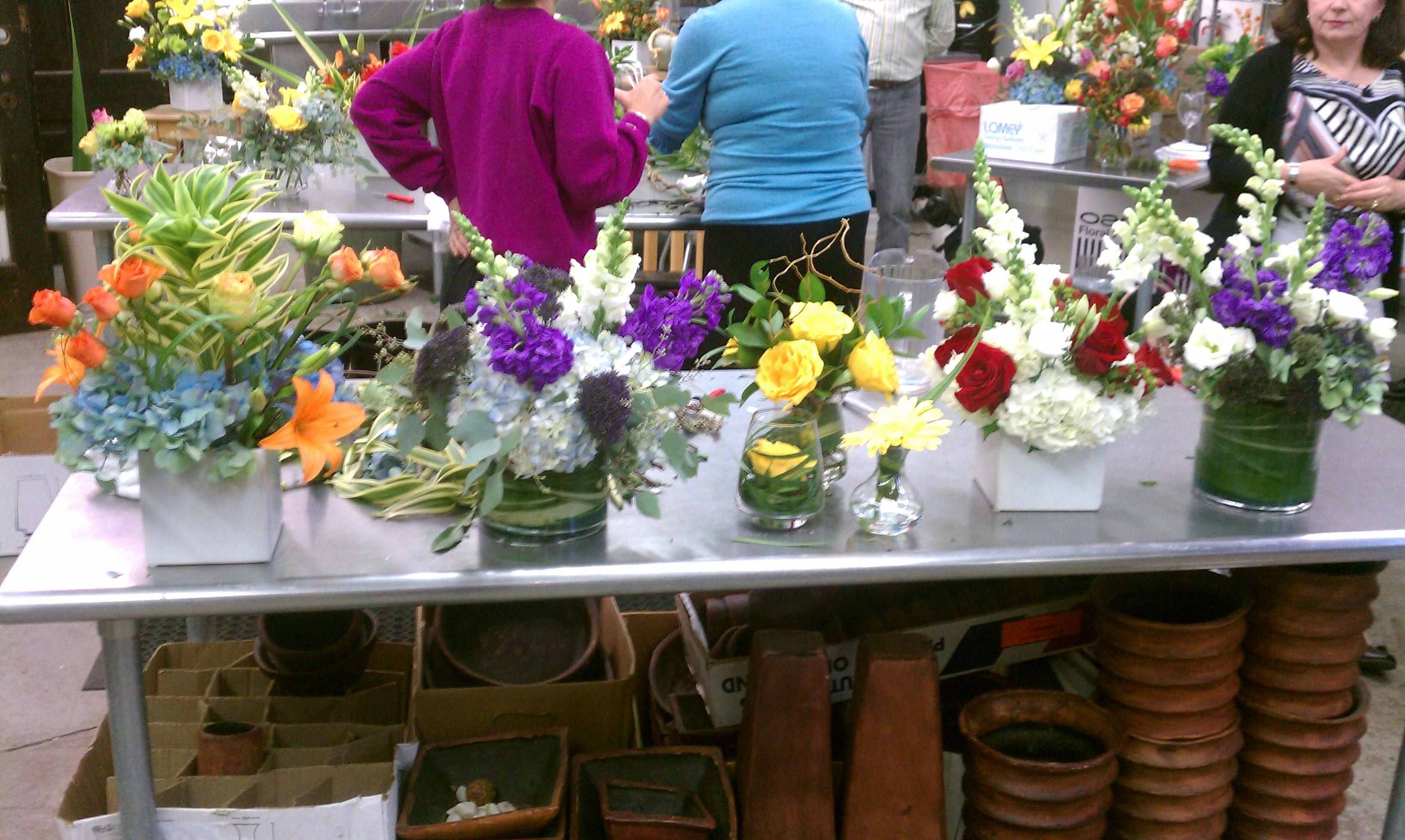 watered garden florist king's daughters inn raleigh nc wedding