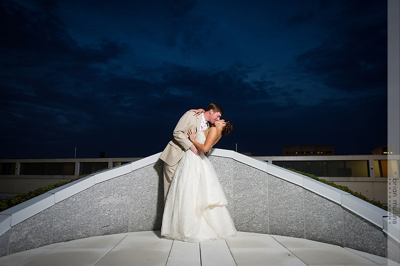 Sam & Carolyn enjoying the moment. Photo by Brian Mullins Photography