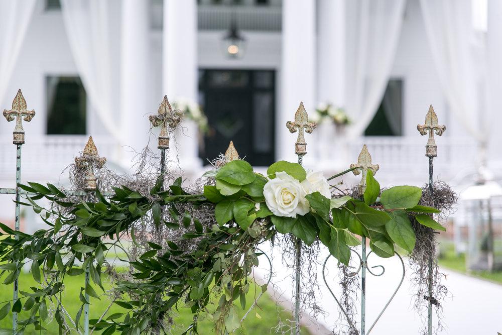 wedding venue florals