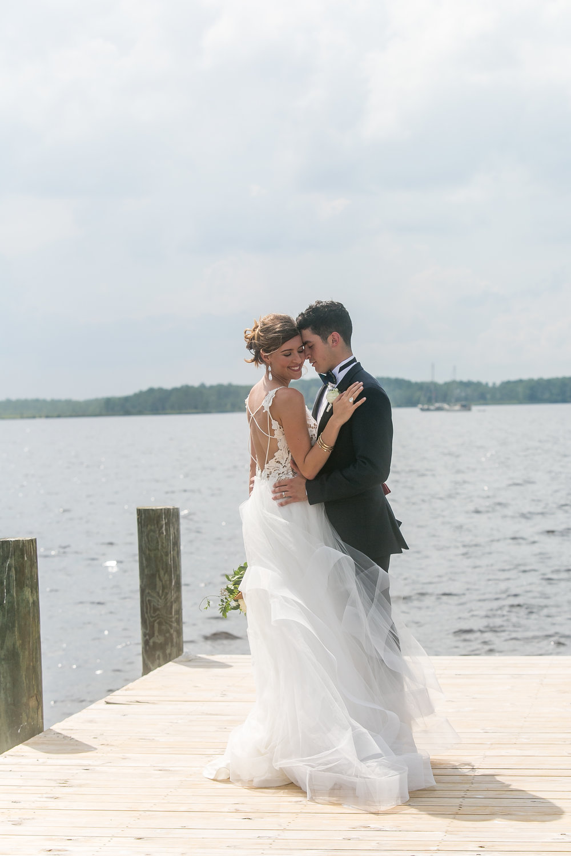 bride and groom wilmington nc