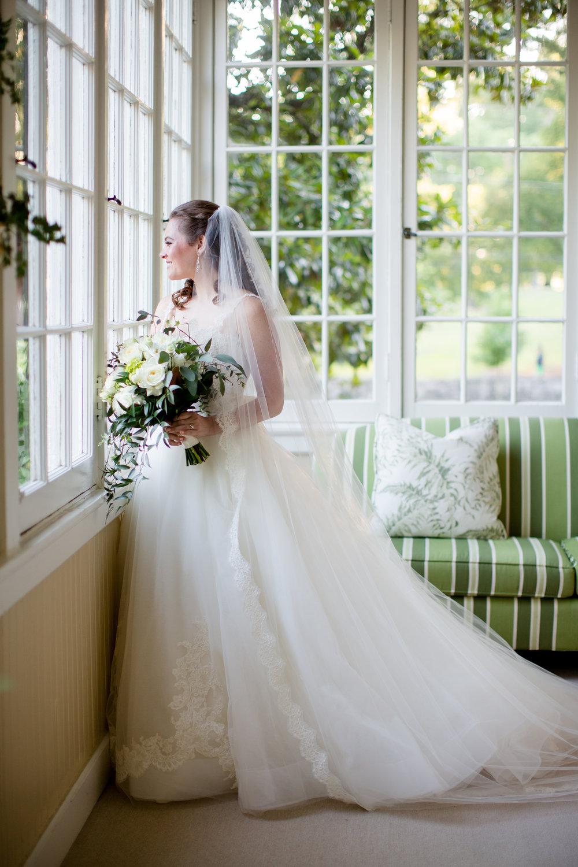 wedding dress bride portrait bouquet