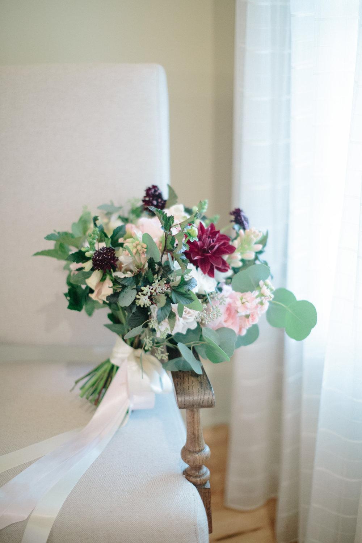 asheville nc wedding fall bridal bouquet