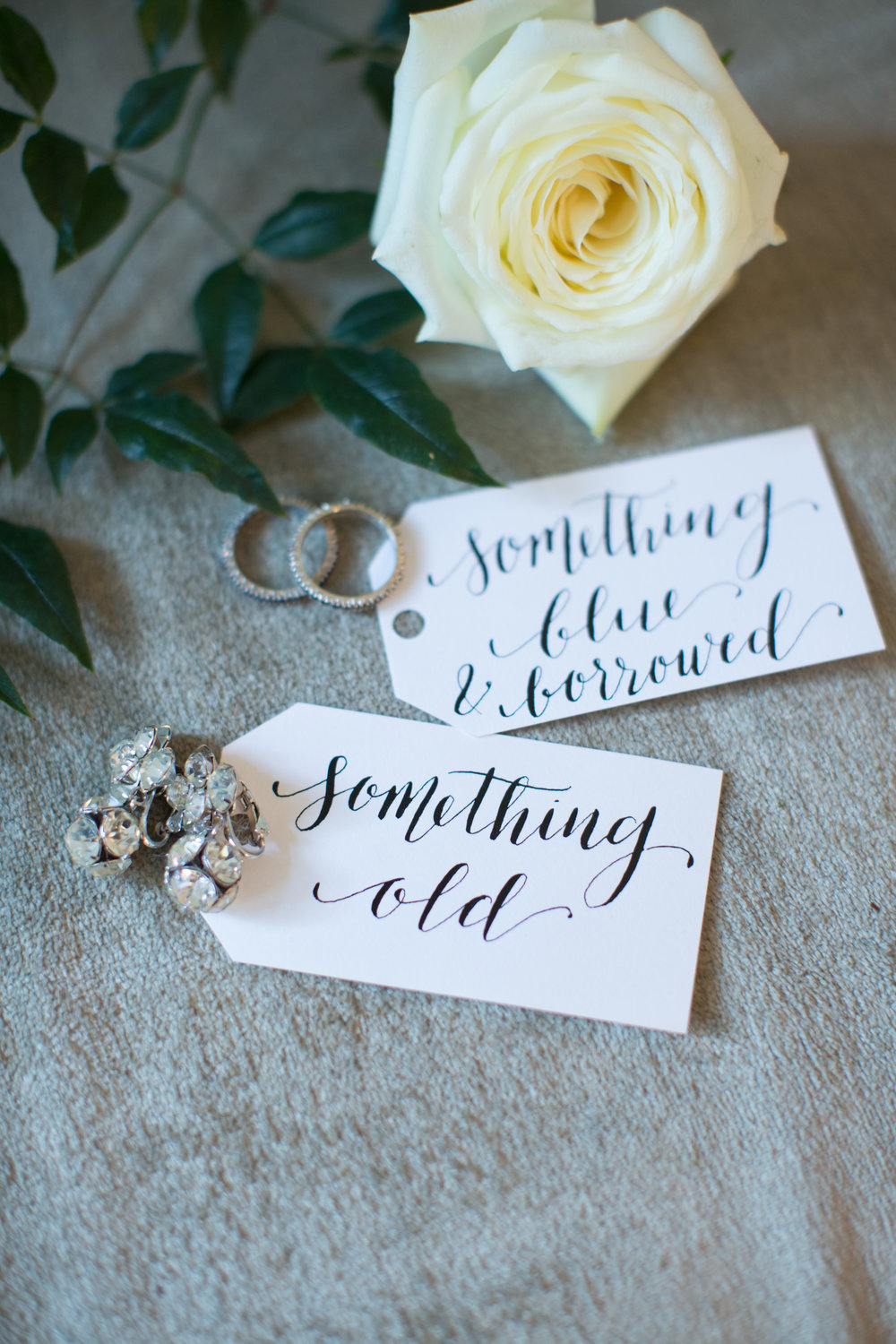 durham nc wedding rings calligraphy