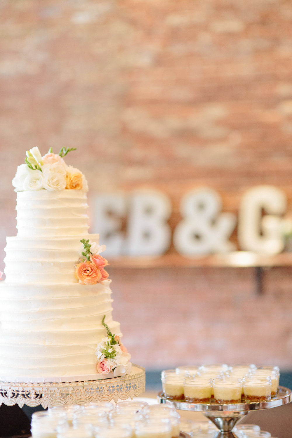durham nc wedding reception decor cake