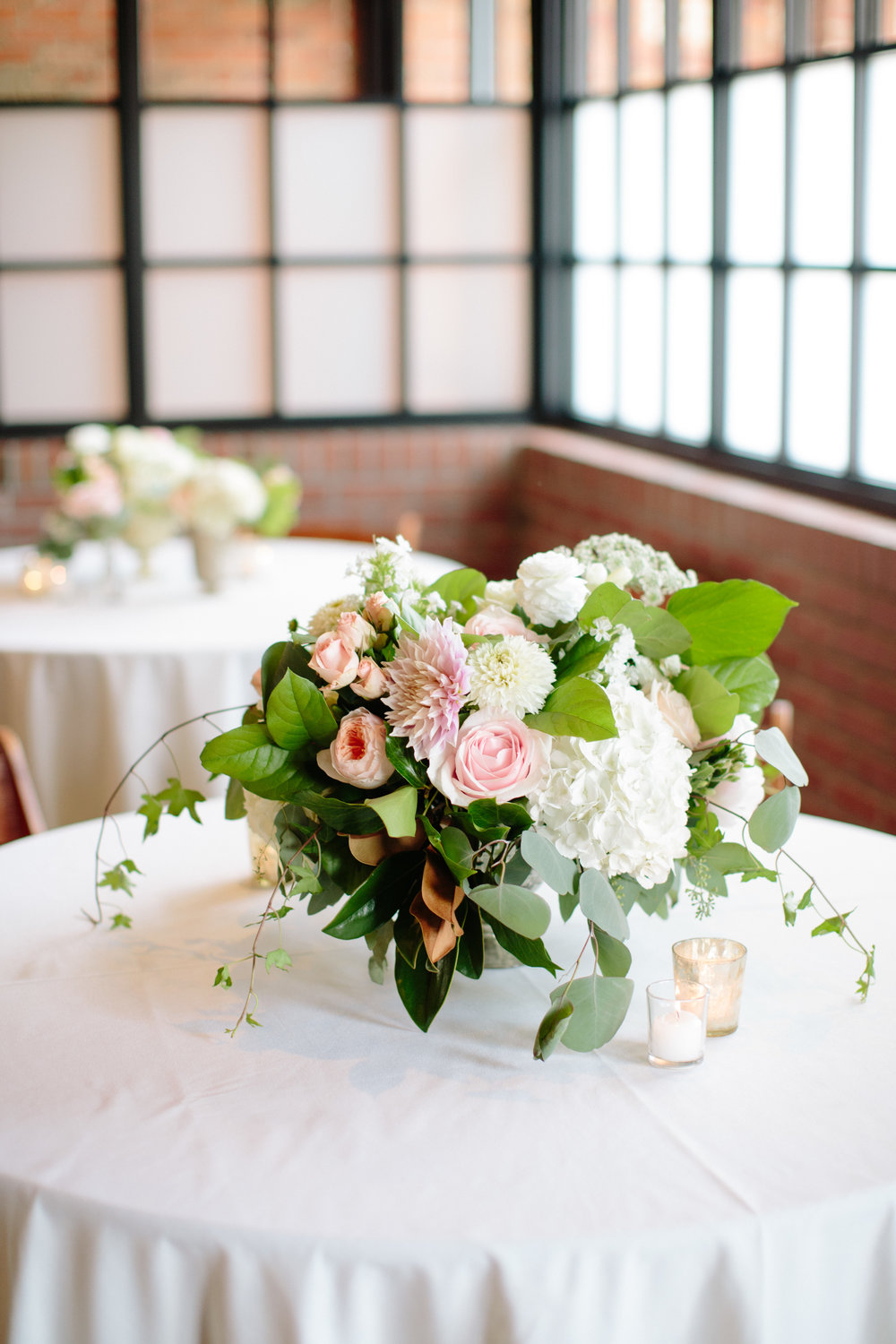 durham nc wedding reception decor floral centerpieces