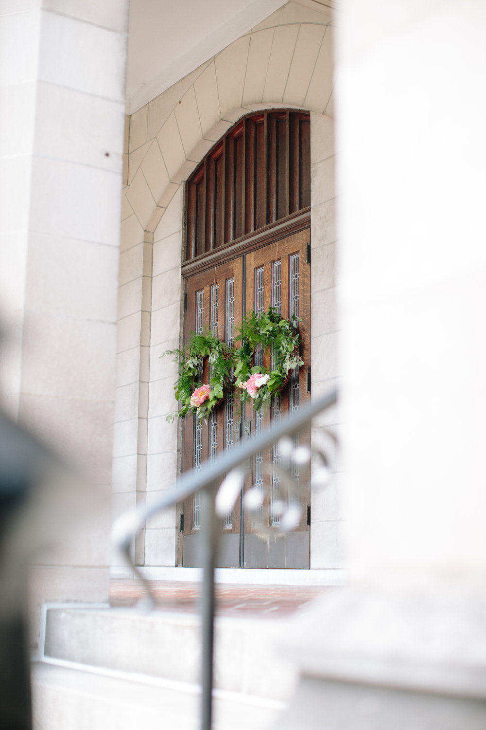durham nc wedding ceremony church florals
