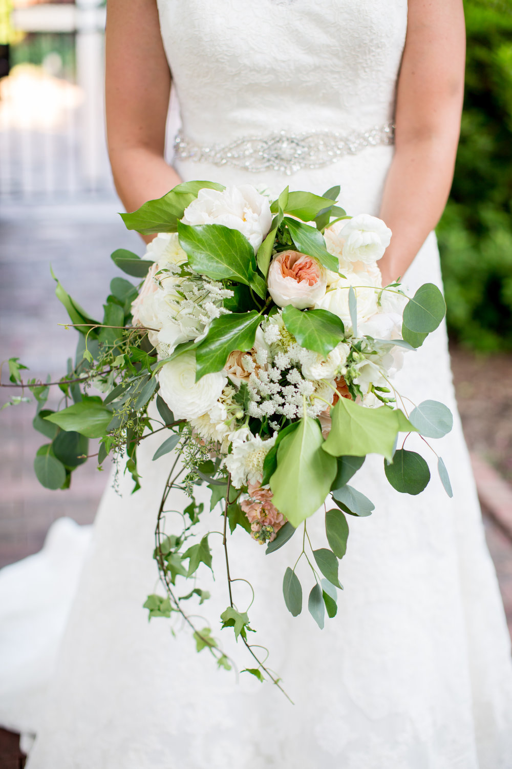 durham nc wedding bride bouquet