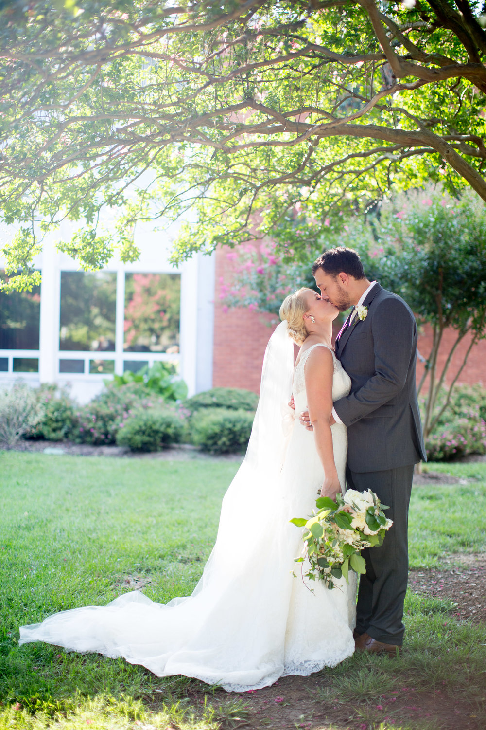 durham nc wedding bride and groom