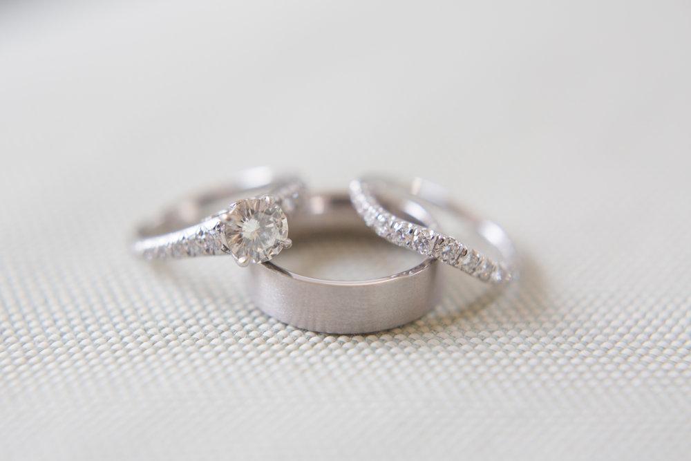 duke gardens wedding durham rings