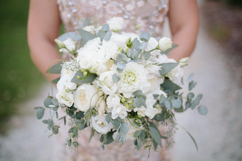 duke gardens wedding durham bouquet