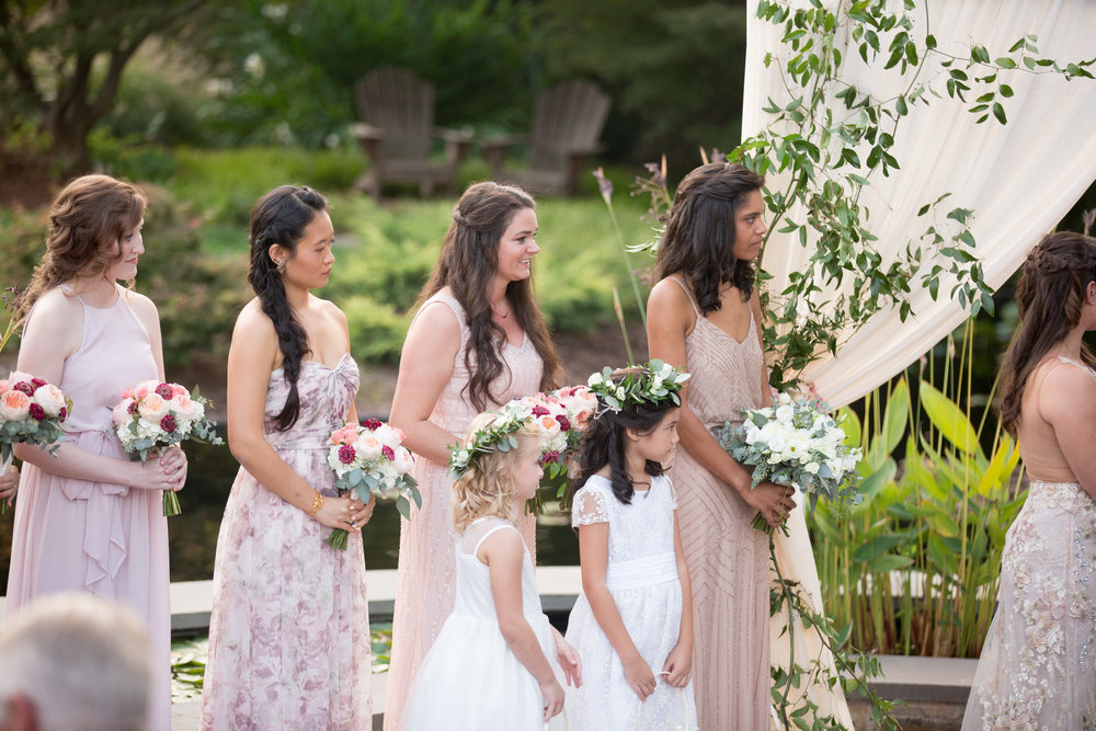 duke gardens wedding durham nc ceremony