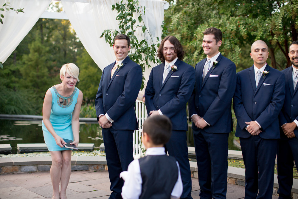 duke gardens wedding durham nc event design groom groomsmen