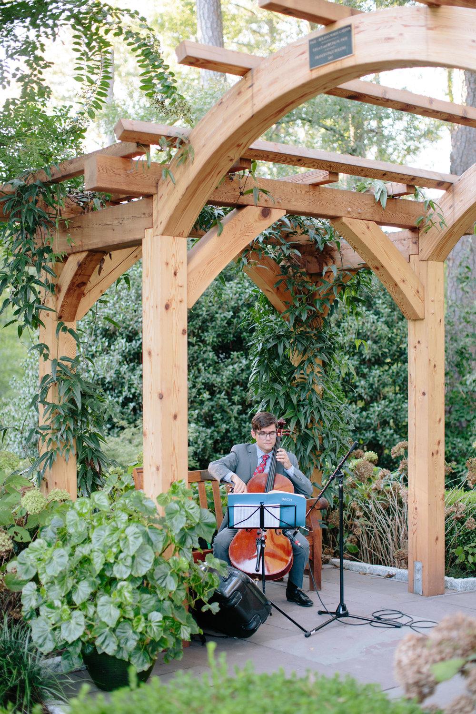 duke gardens wedding durham nc event design ceremony music