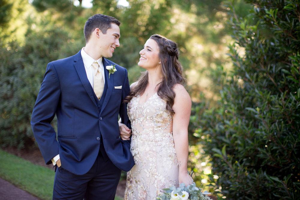 duke gardens wedding durham nc event design bride groom