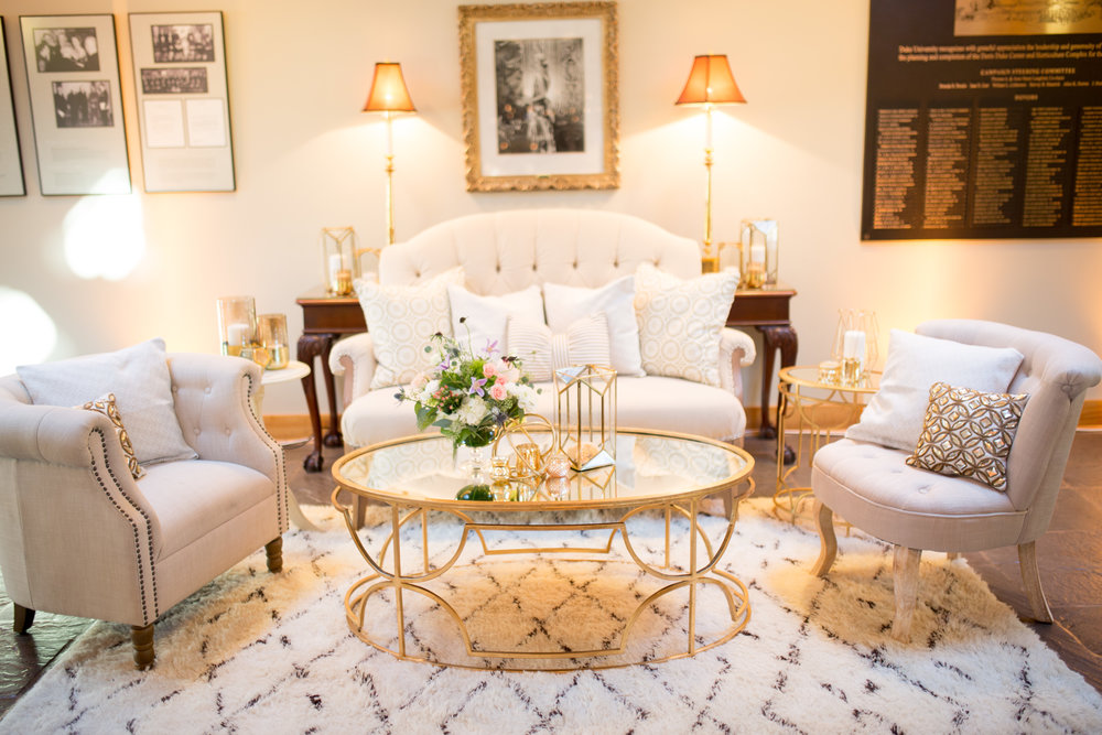 duke gardens wedding durham nc event design lounge