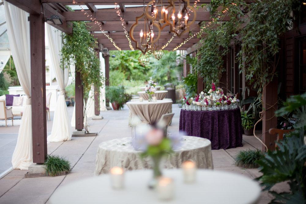 duke gardens wedding durham nc event design chandelier