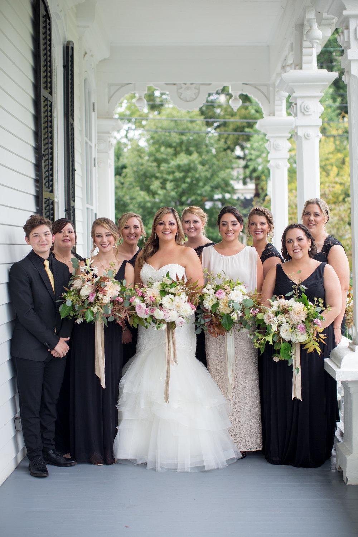 Raleigh nc wedding bridesmaids