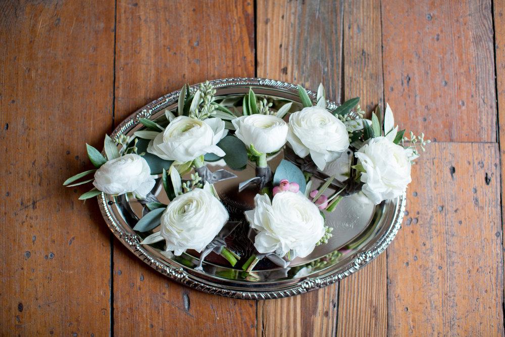 Raleigh nc wedding boutanierres