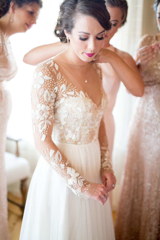 outdoor mountain wedding Asheville nc wedding dress