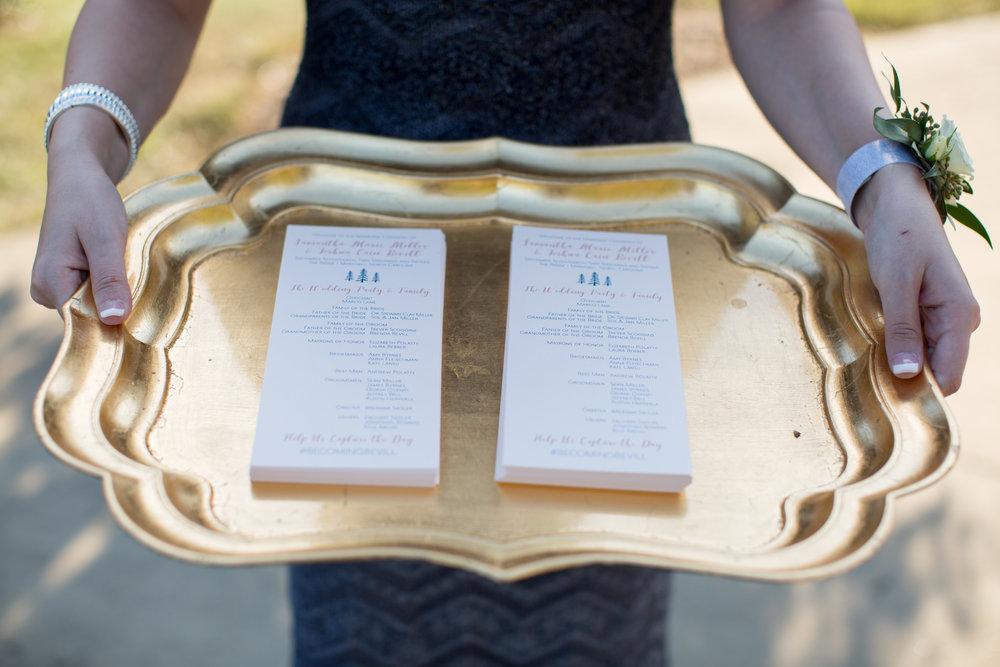 Asheville nc mountain wedding ceremony programs