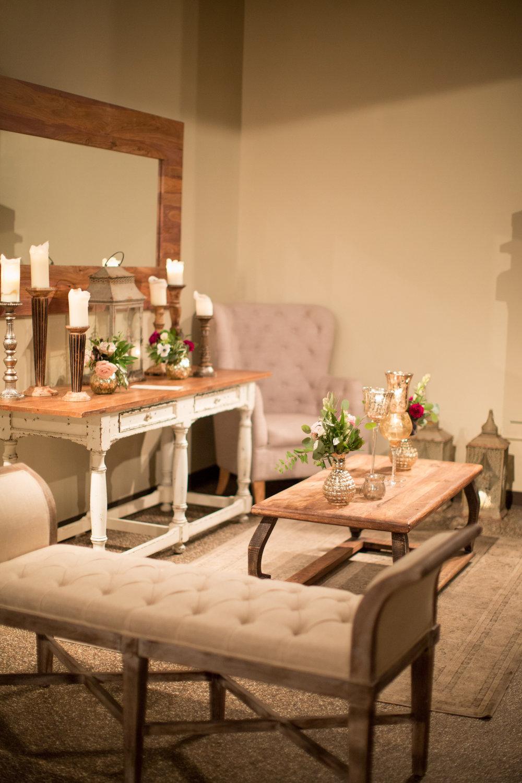Asheville nc mountain wedding reception lounge