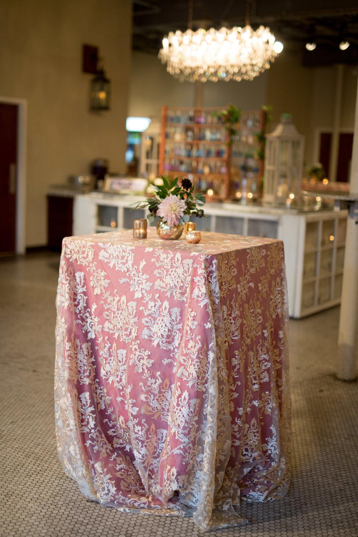 Asheville nc mountain wedding reception linens