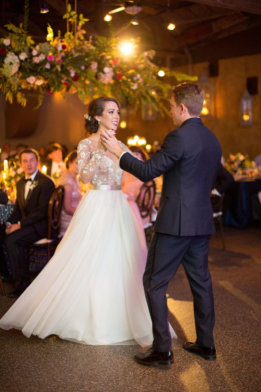 Asheville nc mountain wedding reception dance