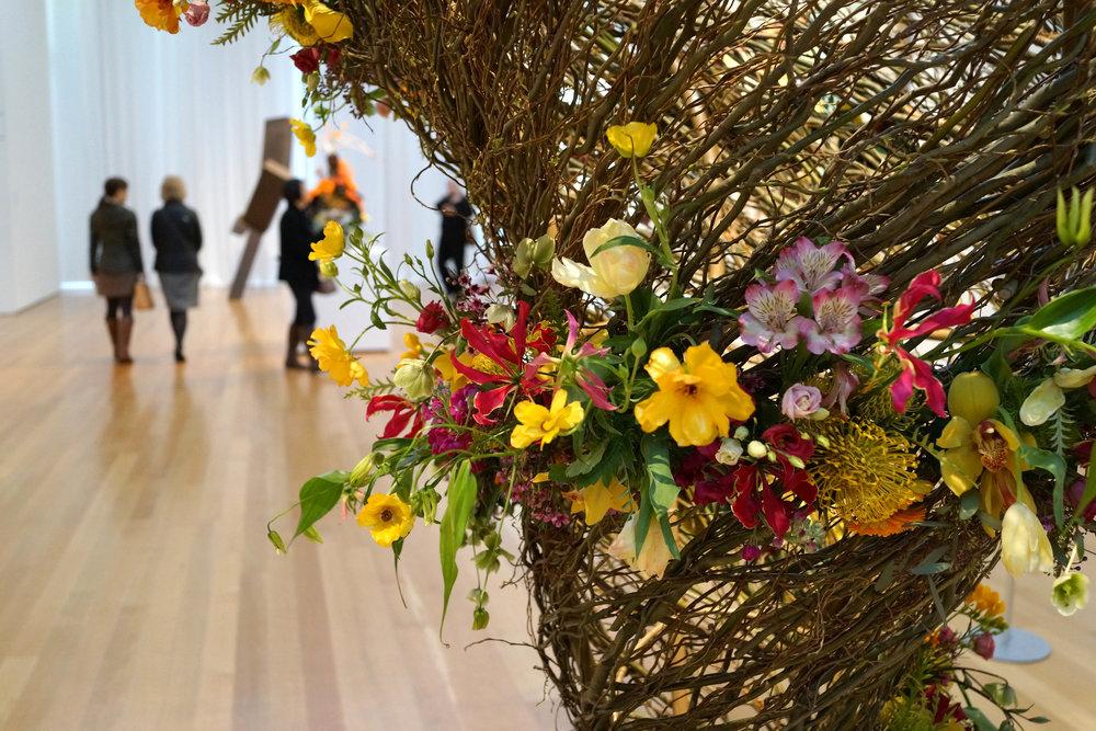 Art in Bloom NCMA floral designer museum