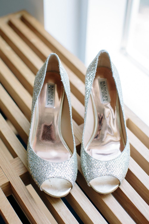 durham athletic park nc wedding badgley mischka shoes