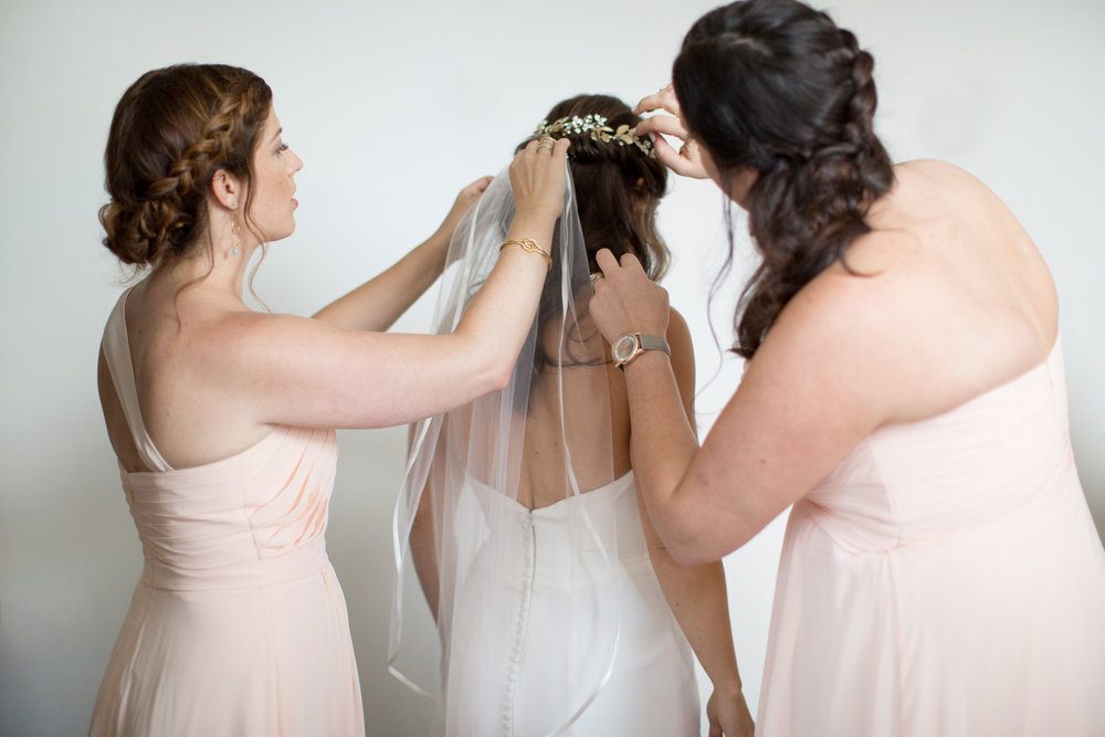 durham athletic park nc wedding bridesmaids bride gown