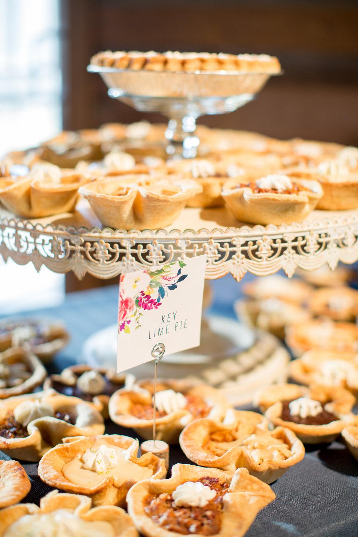 durham nc wedding the rickhouse key lime pie