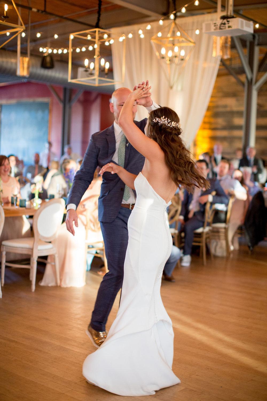 durham nc wedding the rickhouse first dance