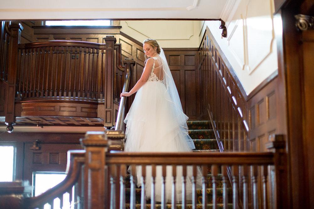 Coastal Inspired Bridal Portraits Belhaven NC Historic Venue Bridal Gown