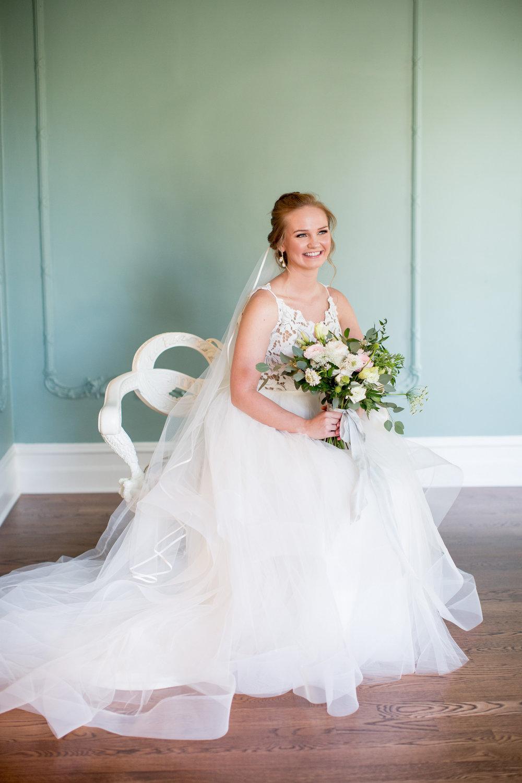 Coastal Inspired Bridal Portraits Belhaven NC Historic Venue Bride