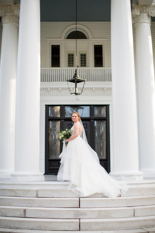 Coastal Inspired Bridal Portraits Belhaven NC Bridal Gown