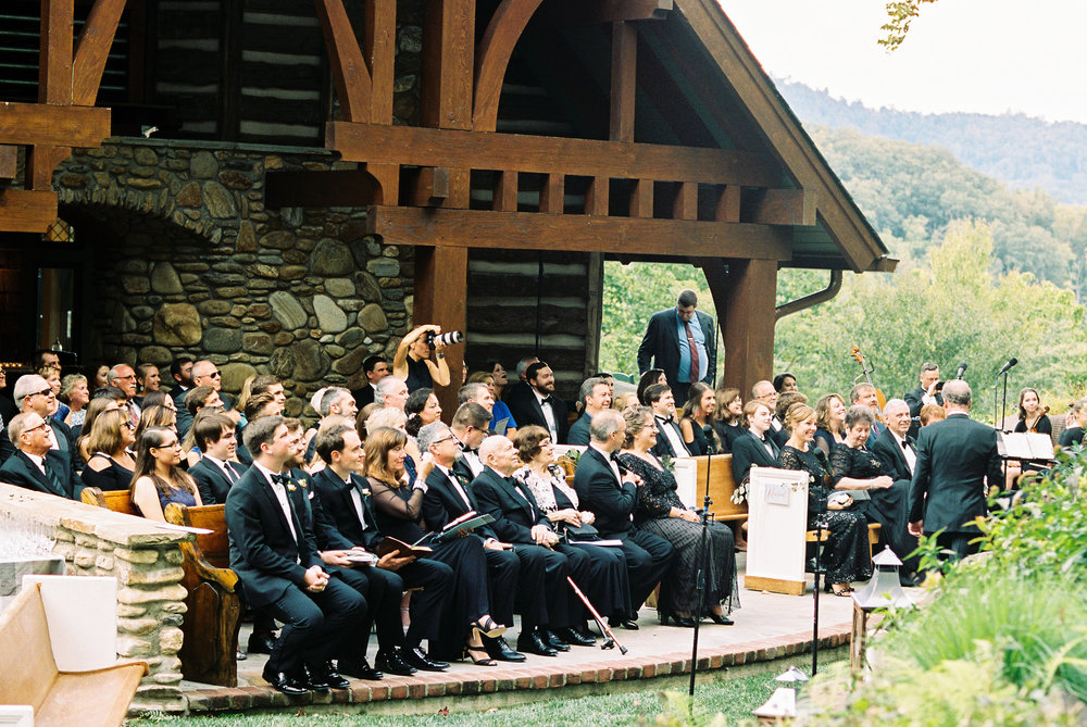 NC Mountain Home Wedding Ceremony