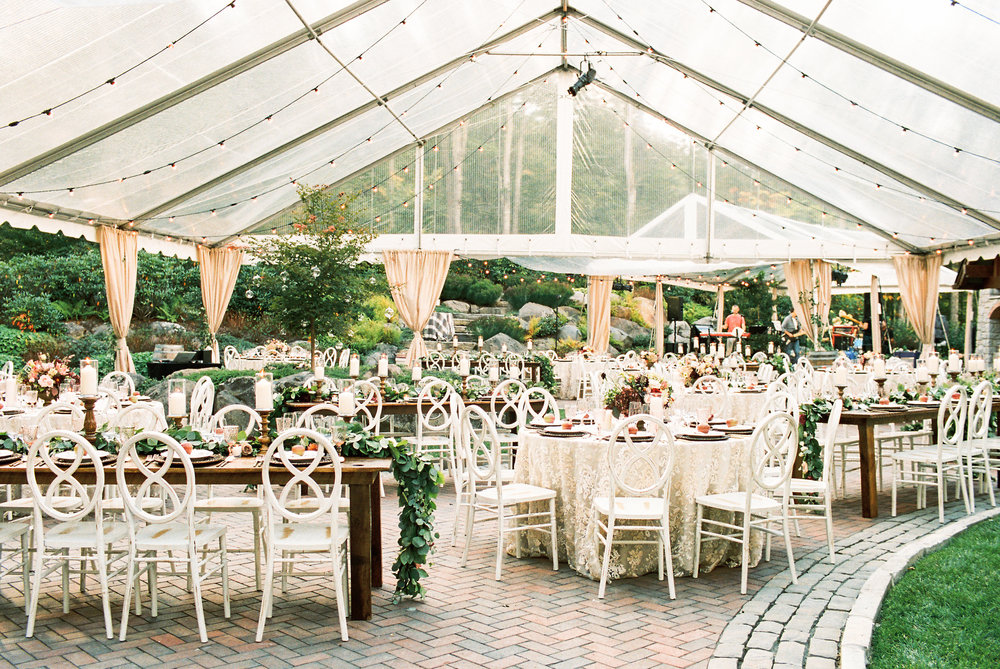 NC Mountain Home Wedding Reception