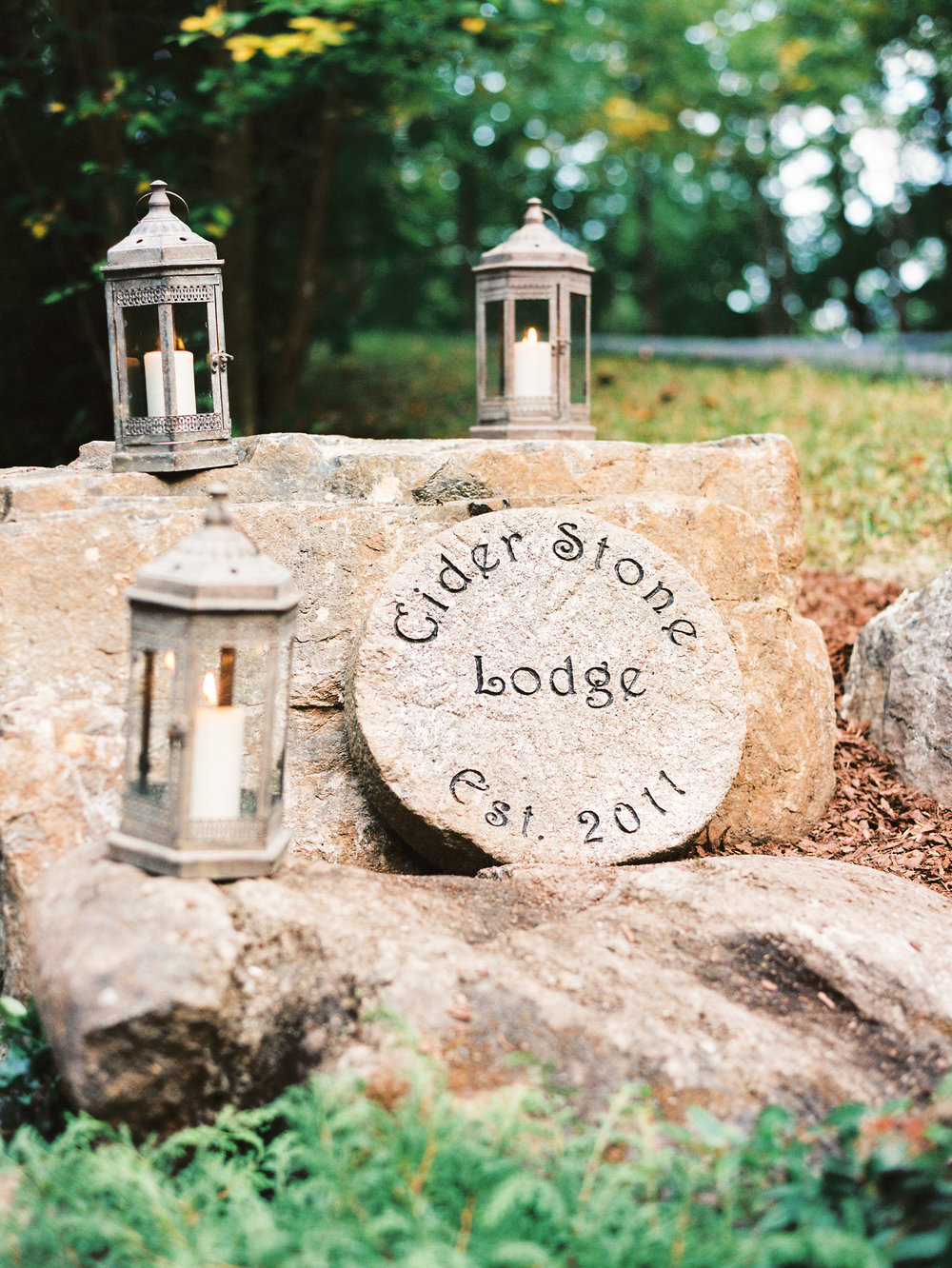 NC Mountain Home Wedding Welcome Details