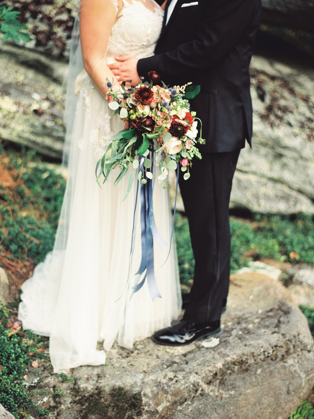 NC Mountain Home Wedding Bridal Bouquet