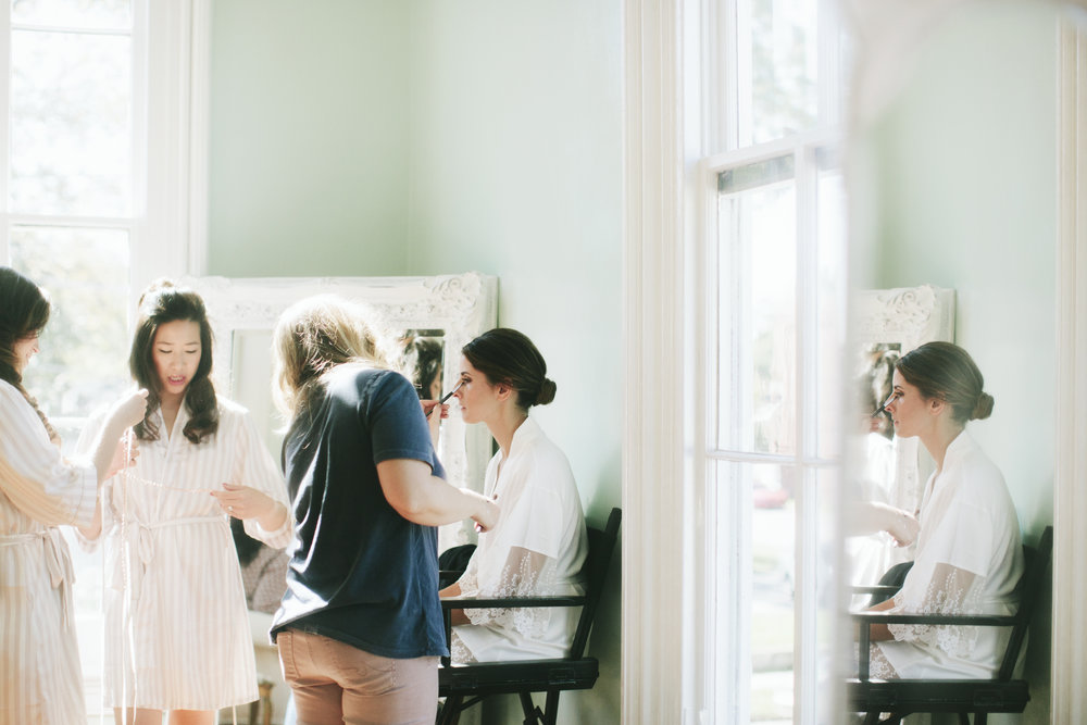 Lauren & Dylan's Restaurant Inspired Wedding Getting Ready Details