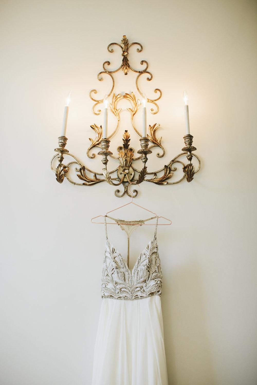 Lauren & Dylan's Restaurant Inspired Wedding Hayley Paige Bridal Gown