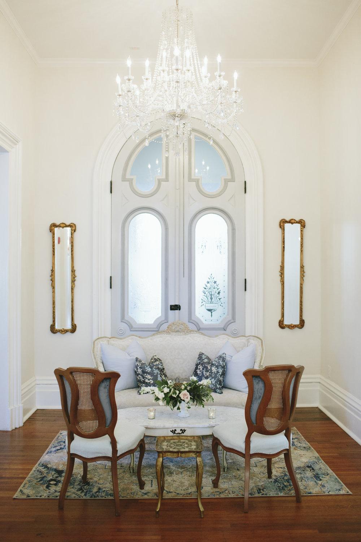 Lauren & Dylan's Restaurant Inspired Wedding Lounge