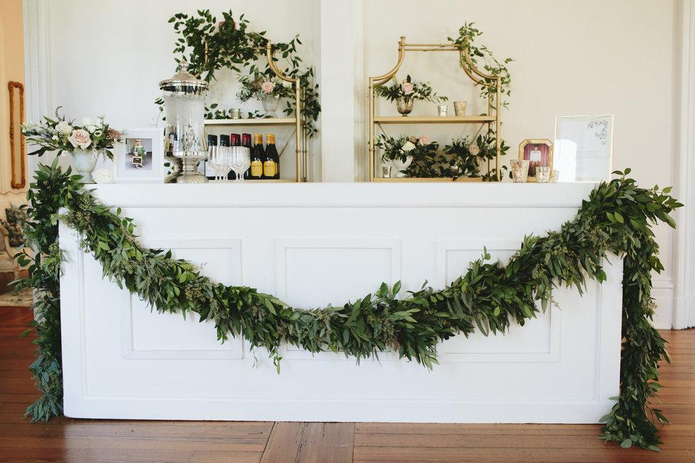 Lauren & Dylan's Restaurant Inspired Wedding Bar