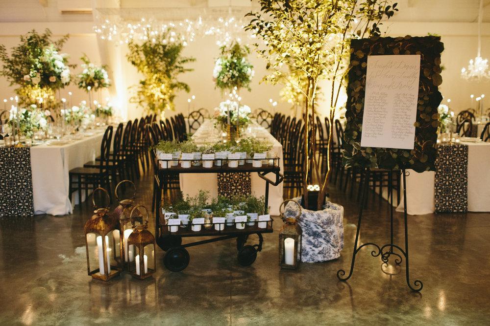 Lauren & Dylan's Restaurant Inspired Wedding Reception