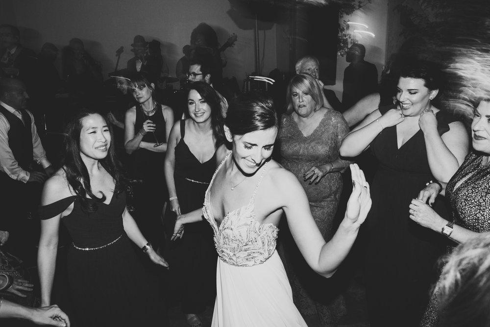 Lauren & Dylan's Restaurant Inspired Wedding Dancing
