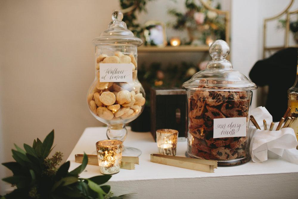 Lauren & Dylan's Restaurant Inspired Wedding Espresso Bar