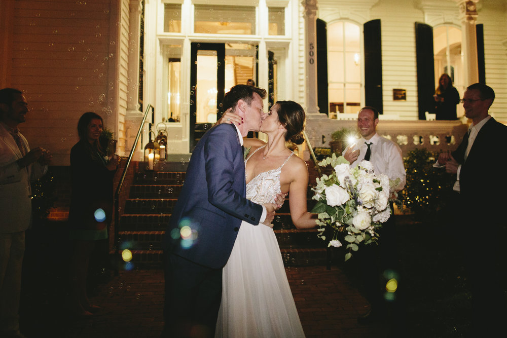 Lauren & Dylan's Restaurant Inspired Wedding Grand Exit